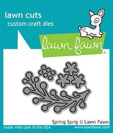 Lawn Fawn SPRING SPRIG Lawn Cuts LF1620 Preview Image