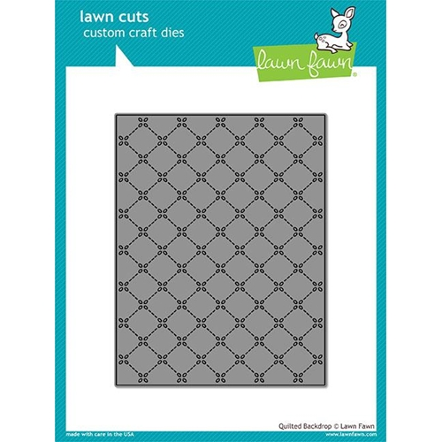 Lawn Fawn QUILTED BACKDROP Lawn Cuts LF1625 Preview Image