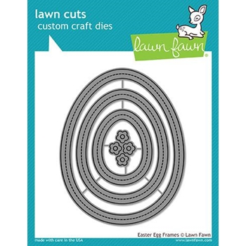 RESERVE Lawn Fawn EASTER EGG FRAMES Lawn Cuts LF1628