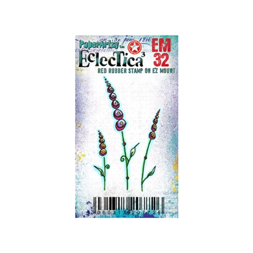 Paper Artsy ECLECTICA3 KAY CARLEY MINI 32 Rubber Cling Stamp EM32 Preview Image