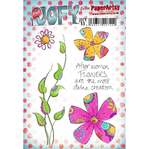 Paper Artsy JOFY 59 Rubber Cling Stamp JOFY59 Preview Image