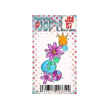 Paper Artsy JOFY MINI 57 Rubber Cling Stamp JM57