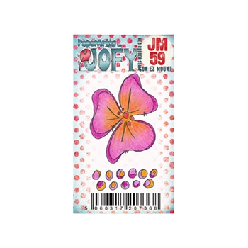Paper Artsy JOFY MINI 59 Rubber Cling Stamp JM59