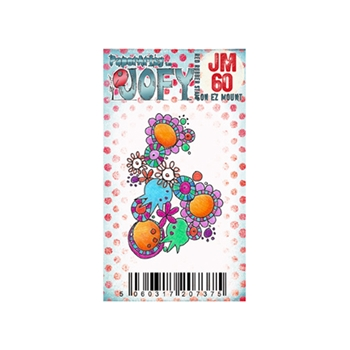 Paper Artsy JOFY MINI 60 Rubber Cling Stamp JM60