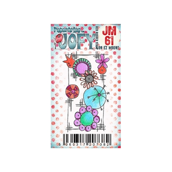 Paper Artsy JOFY MINI 61 Rubber Cling Stamp JM61