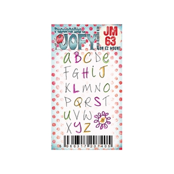 Paper Artsy JOFY MINI 63 Rubber Cling Stamp JM63