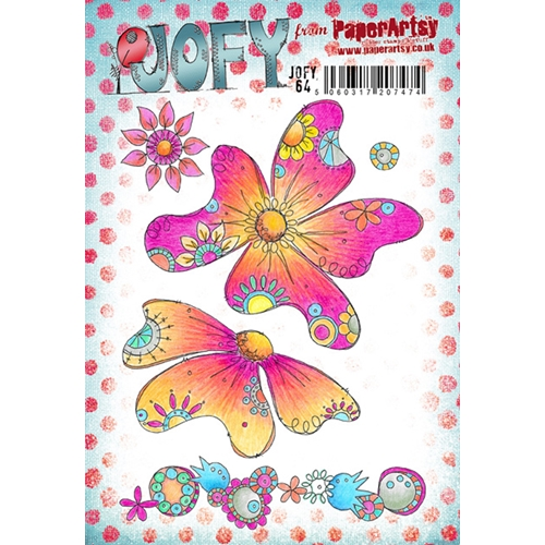 Paper Artsy JOFY 64 Rubber Cling Stamp JOFY64 Preview Image