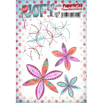 Paper Artsy JOFY 62 Rubber Cling Stamp JOFY62