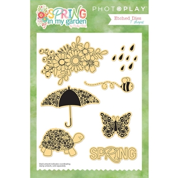 PhotoPlay SPRING IN MY GARDEN Die Set sg8832