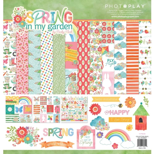PhotoPlay SPRING IN MY GARDEN 12 x 12 Collection Pack sg8829* Preview Image