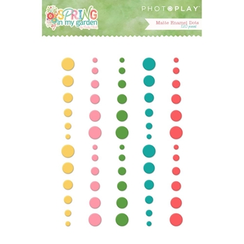 PhotoPlay SPRING IN MY GARDEN Matte Enamel Dots sg8783