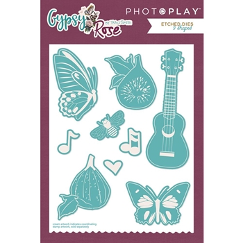 PhotoPlay GYPSY ROSE Die Set gy8821