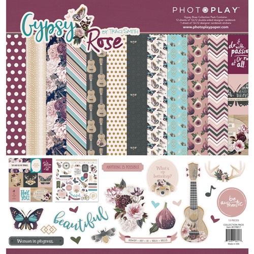 PhotoPlay GYPSY ROSE 12 x 12 Collection Pack gy8818* Preview Image