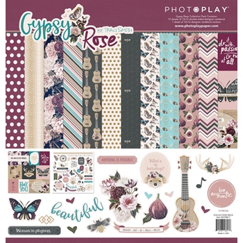 PhotoPlay GYPSY ROSE 12 x 12 Collection Pack gy8818
