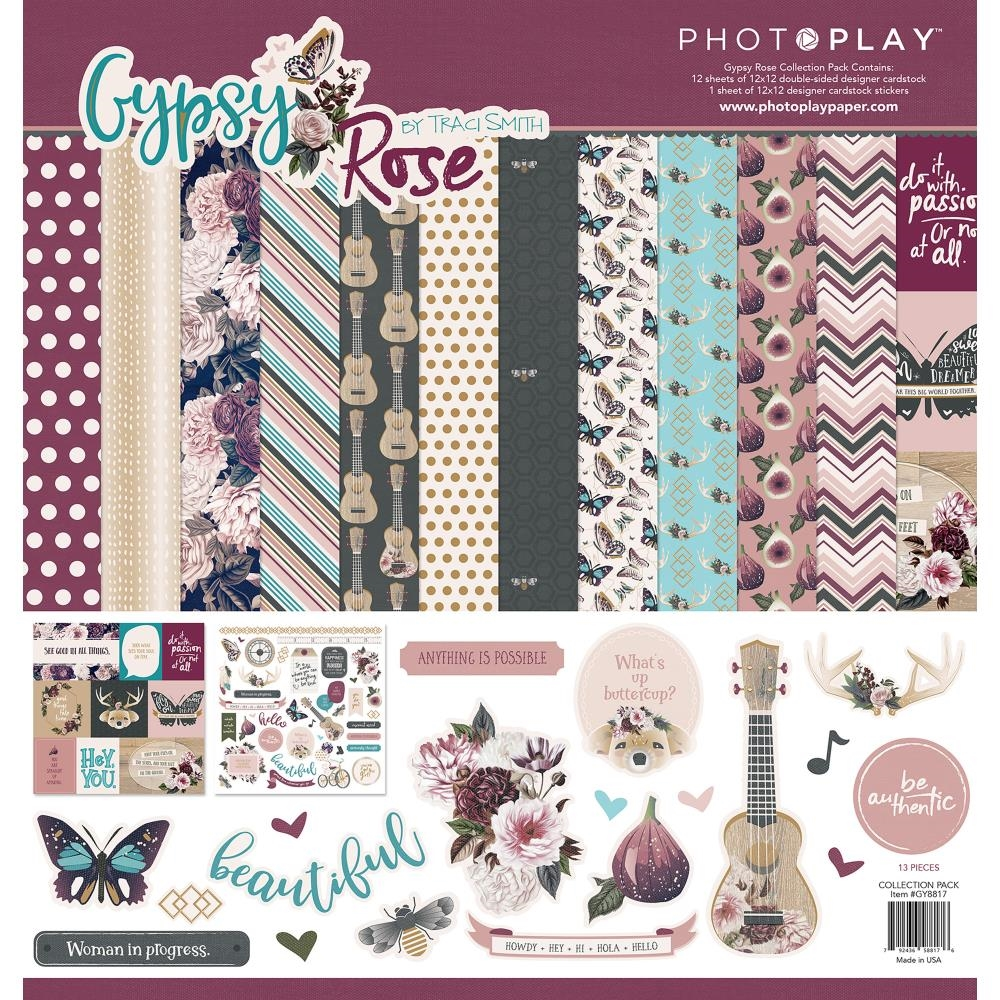 PhotoPlay GYPSY ROSE 12 x 12 Collection Pack gy8818* zoom image