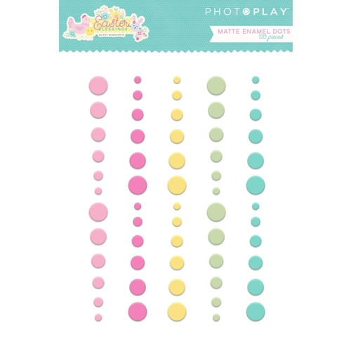 PhotoPlay EASTER BLESSINGS Matte Enamel Dots eb8796 Preview Image