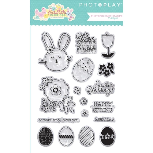 PhotoPlay EASTER BLESSINGS Clear Stamps eb8793 Preview Image