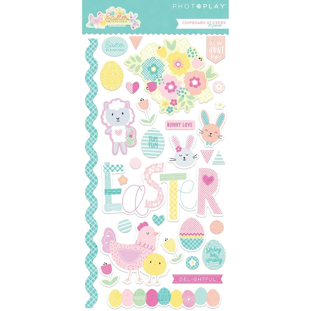 PhotoPlay EASTER BLESSINGS Chipboard Shapes eb8795 zoom image