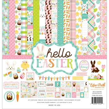 Echo Park HELLO EASTER 12 x 12 Collection Kit hee145016