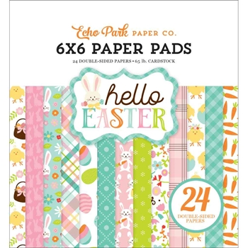 Echo Park HELLO EASTER 6 x 6 Paper Pad hee145023