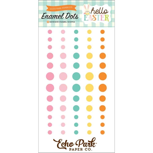 Echo Park HELLO EASTER Enamel Dots hee145028* Preview Image