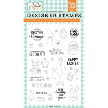 Echo Park EASTER BLESSINGS Clear Stamps hee145044