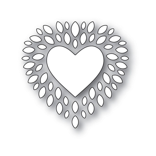 Simon Says Stamp CUPIDS HEART Wafer Dies s531 Love Preview Image