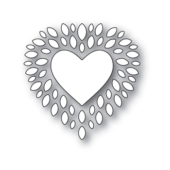 Simon Says Stamp CUPIDS HEART Wafer Dies s531 Love
