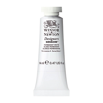 Winsor Newton PERMANENT WHITE 14ml GOUACHE 0605512
