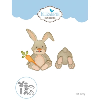 Elizabeth Craft Designs BUNNY Craft Die 1459