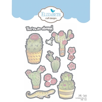 Elizabeth Craft Designs CACTI Craft Die 1496