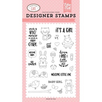 Echo Park DREAM BIG LITTLE ONE Clear Stamps sbg142043