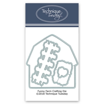 Technique Tuesday FUNNY FARM Coordinating DIY Steel Dies 02614