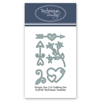Technique Tuesday SIMPLY YOU 2.0 DIY Steel Die Cuts 02616