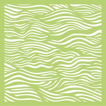 Kaisercraft RIPPLES 6x6 Inch Designer Stencil Template IT460