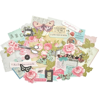 Kaisercraft MISS BETTY Collectables Die Cut Cardstock Shapes CT931
