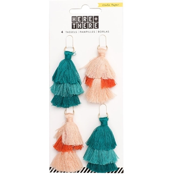 Crate Paper HERE & THERE Tiered Tassels 344349