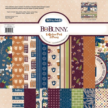 BoBunny 12 x 12 STAY AWHILE Collection Pack 7310061