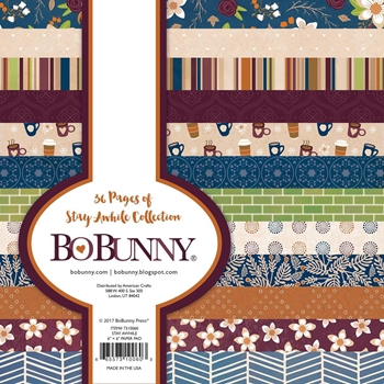 BoBunny 6 x 6 STAY AWHILE Paper Pad 7310060