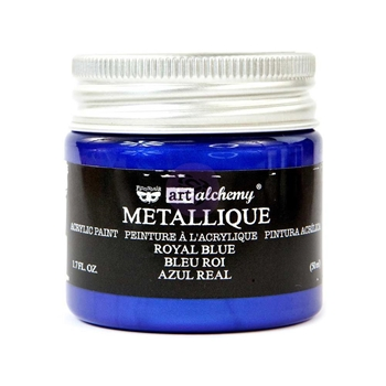Prima Marketing METALLIQUE ROYAL BLUE Art Alchemy Acrylic Paint 965143