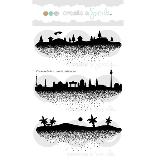 Create A Smile LUCENT LANDSCAPES Clear Stamps clcs68* Preview Image
