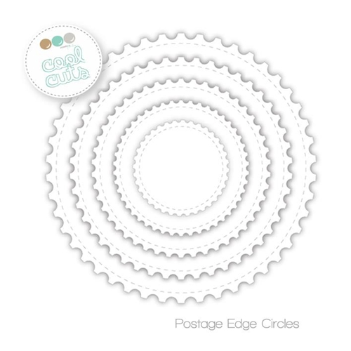 Create A Smile POST EDGE CIRCLES Cool Cuts Die dcs16 Preview Image