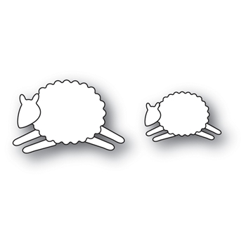 Memory Box LEAPING SHEEP Craft Die 99903