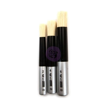 Prima Marketing DABBING BRUSH SET OF 3 Art Basics 965228