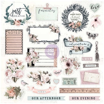 Prima Marketing FAVORITES Traveler's Journal Ephemera & Stickers 599782