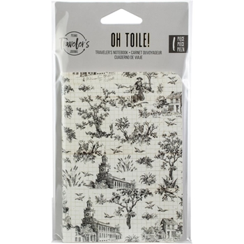 Prima Marketing OH TOILE Traveler's Journal Refill Notebook 599836