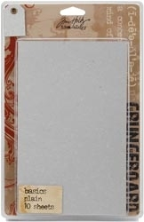 Tim Holtz Idea-ology GRUNGEBOARD BASICS PLAIN Altered Art  TH92715