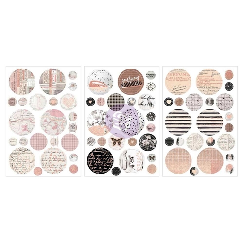 Prima Marketing AMELIA ROSE Circle Stickers 596699 Preview Image