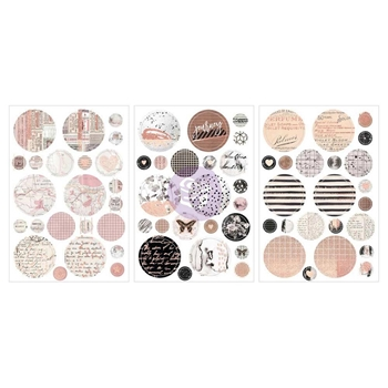 Prima Marketing AMELIA ROSE Circle Stickers 596699