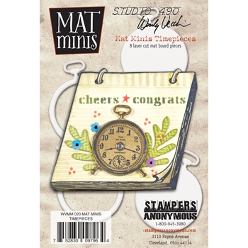 Wendy Vecchi Mat Minis TIME PIECES Studio 490 WVMM020
